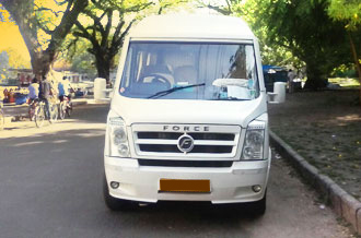 tempo traveller 10seat