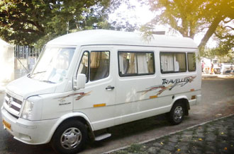 tempo traveller 12seat