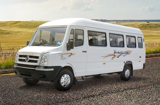 tempo traveller 17seat